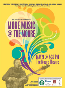 13th Annual More Music @ The Moore