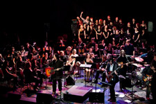 Seattle Rock Orchestra performs Neil Diamond