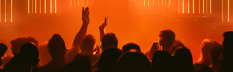 image contains: people performing music, people at a concert, Paramount Theatre