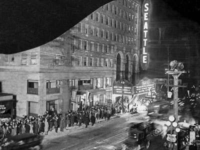 Historic Photo of The Paramount Theatre
