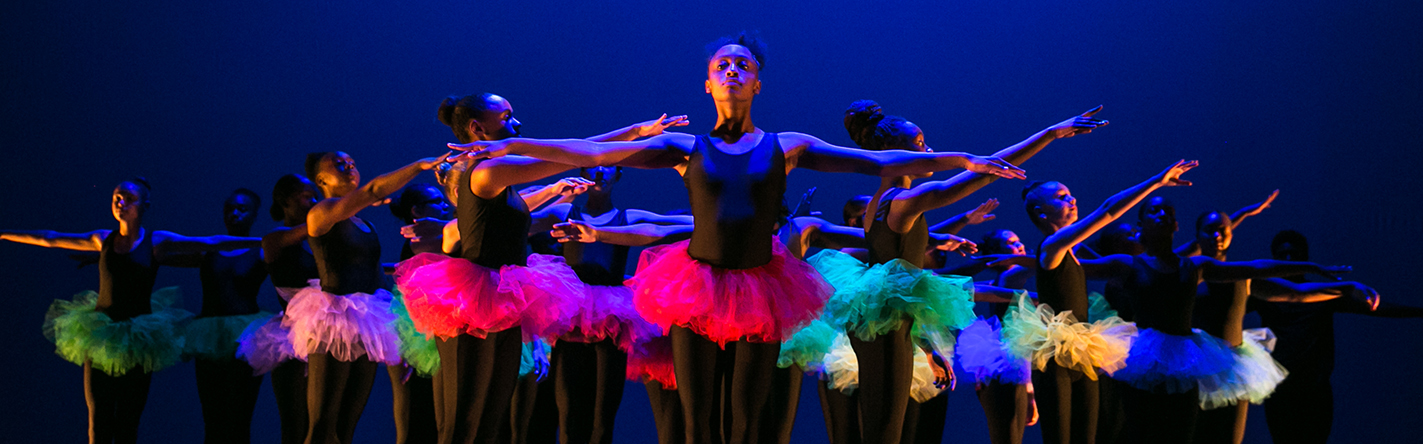 STG AileyCamp students perform on stage