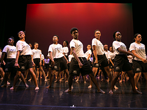 AileyCampers performing on stage