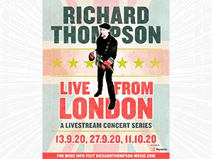 Richard Thompson Live from London