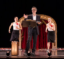 Three Acts, Two Dancers, One Radio Host: Ira Glass, Monica Bill Barnes & Anna Bass