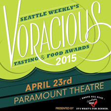 Seattle Weekly's 6th Annual Voracious Tasting & Food Awards