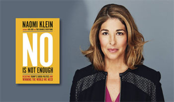 Resisting Trump's Shock Doctrine: An Evening with Naomi Klein