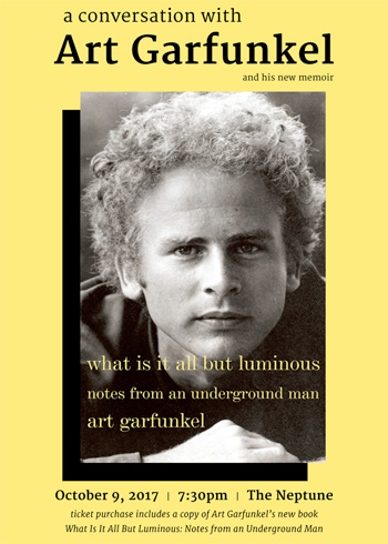 A Conversation with Art Garfunkel