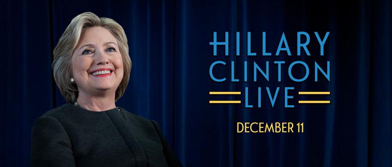 Stg Presents Hillary Clinton Live