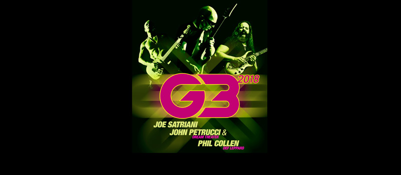 G3 featuring Joe Satriani, John Petrucci, Phil Collen