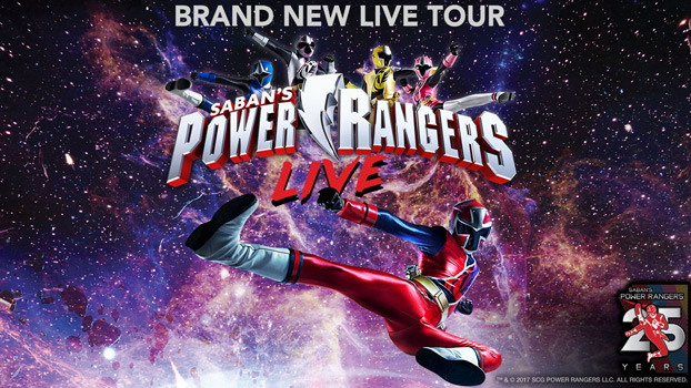 Power Rangers Live - POSTPONED