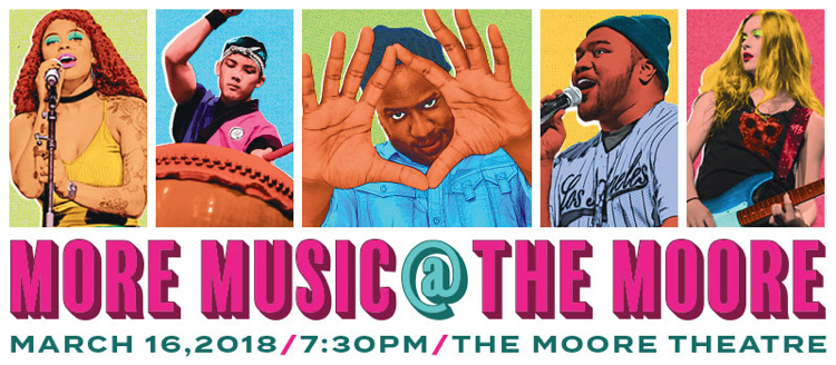 17th Annual More Music @ The Moore