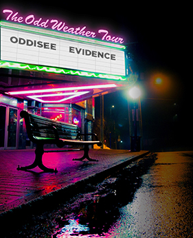 Oddisee Evidence Delta Air Lines The Neptune Theatre