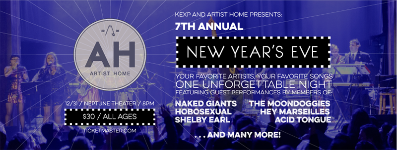 7th Annual Artist Home New Year's Eve Celebration