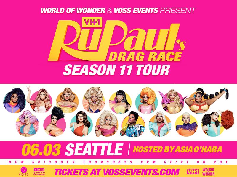 RuPaul's Drag Race: Season 11 Tour