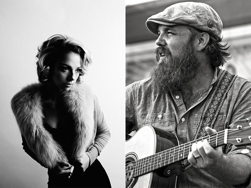 Marc Broussard and Samantha Fish