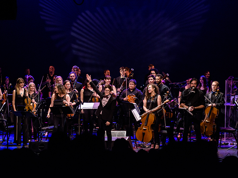 Seattle Rock Orchestra Performs Led Zeppelin I & II