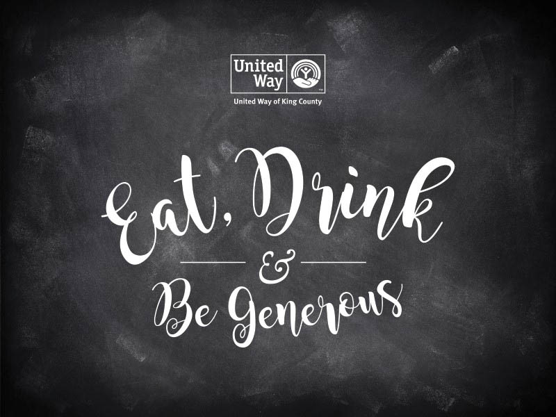United Way of King County Eat, Drink & Be Generous