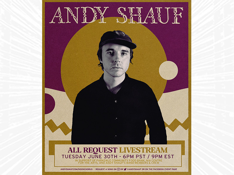 Andy Shauf All Request Livestream on June 30, 2020