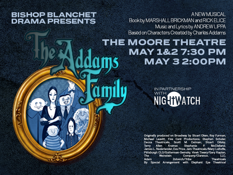 BBHS The Addams Family show information