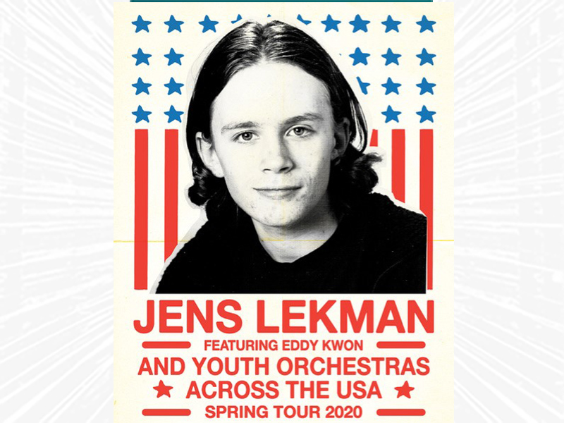 Jens Lekman featuring Eddy Kwon and Youth Orchestras across the USA Spring Tour 2020