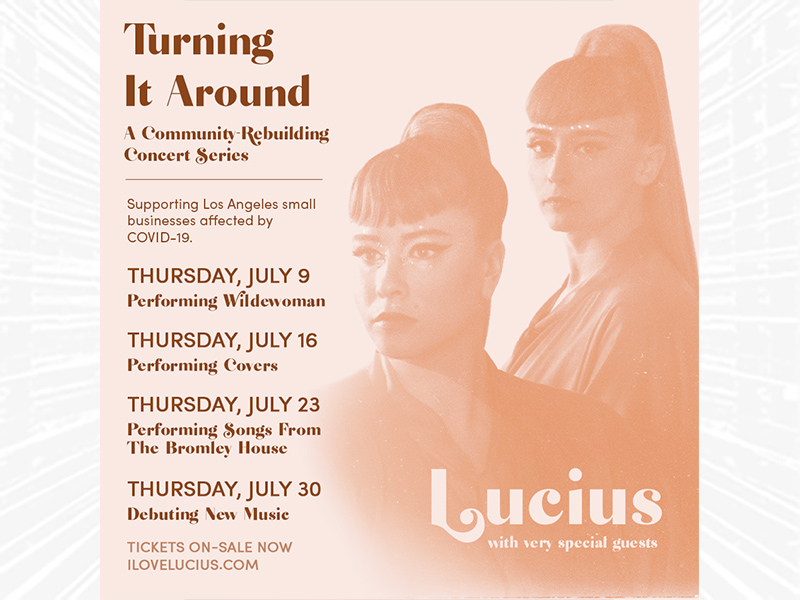Turning It Around - A Community-Rebuilding Concert Series with Lucius