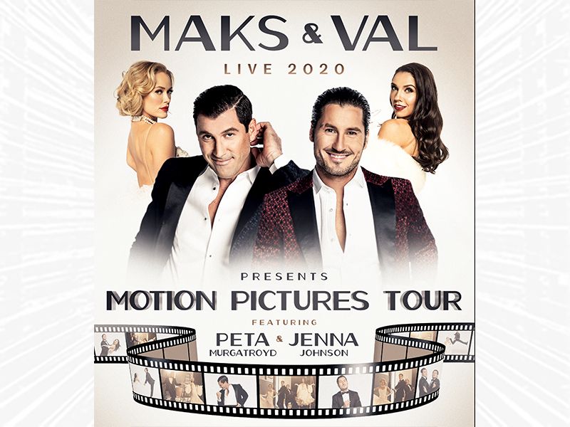 Maks & Val Live show poster