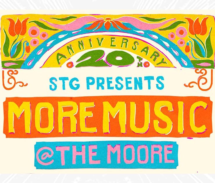 20th Annual More Music @ The Moore