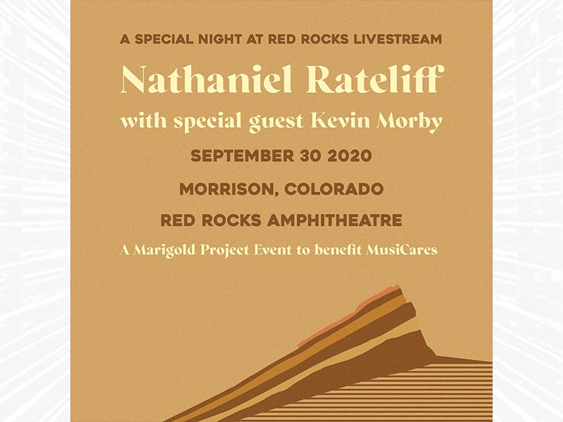 A Special Night at Red Rocks Livestream with<br />Nathaniel Rateliff - Tonight!