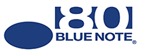 Company logos and text: Blue Note 80