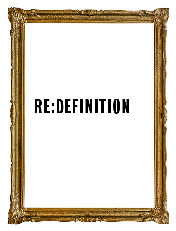 Re:definition poster graphic